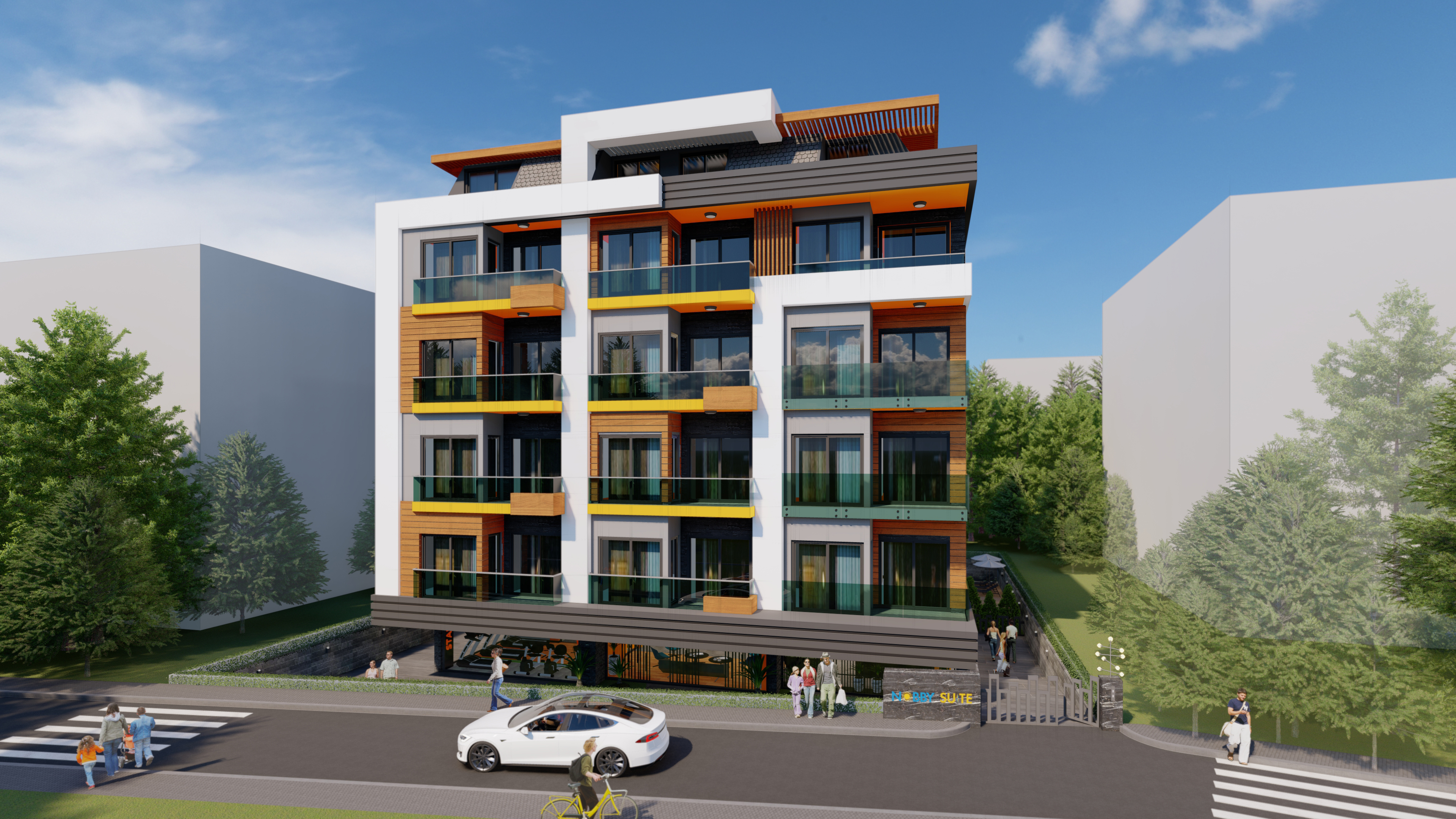 Apartments in a premium boutique project in the center of Alanya