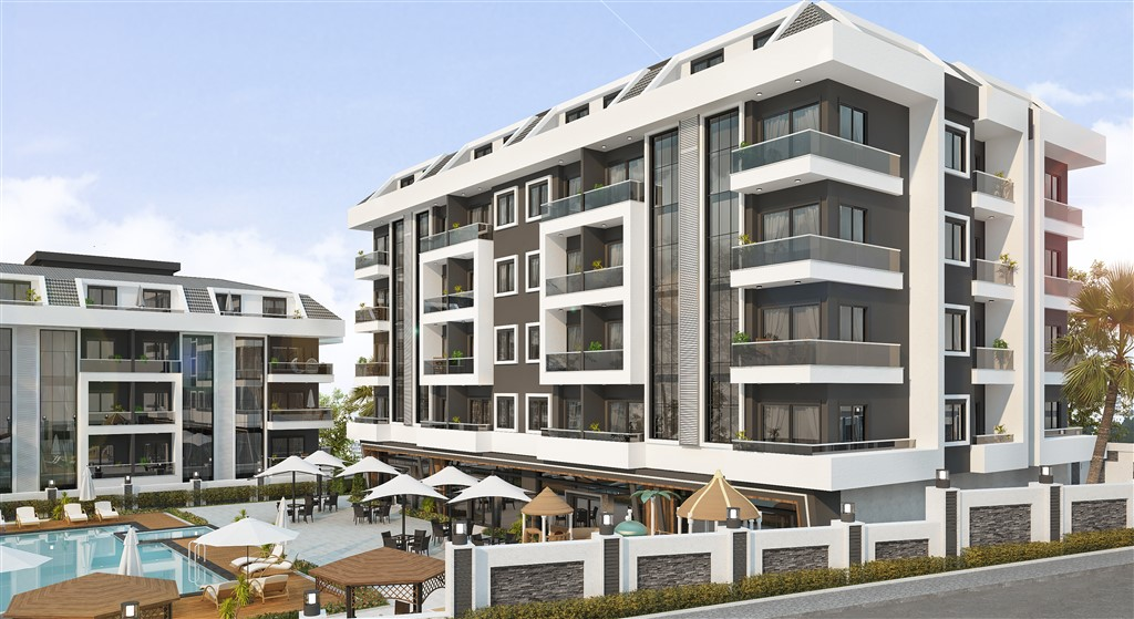 Luxury apartments in Oba in Alanya
