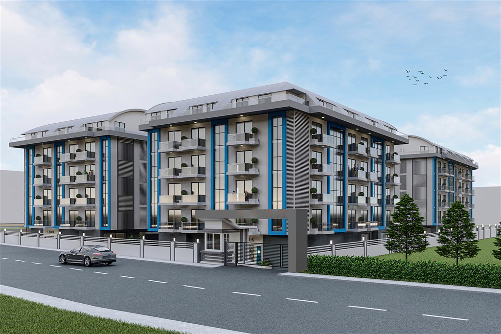 Apartments in Oba in Alanya from the developer